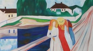 Die 3 Mädchen auf der Brücke