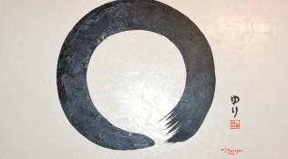 Enso – Kreis – Zen Symbol für Unendlichkeit