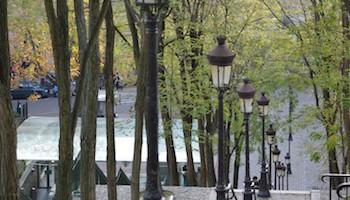 Montmartre Stufen