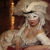 Maske Weiß Spiegelsaal