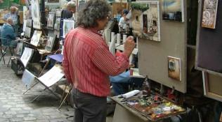 Montmartre Maler