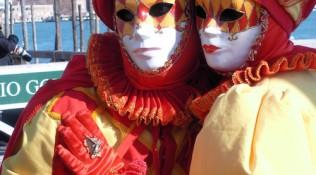 Maske Rot – Gelb