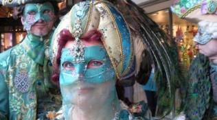 Masken Türkis