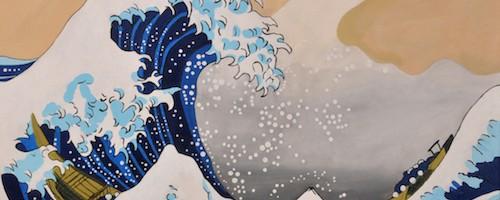 Die Große Welle Vor Kanagawa Yuris Gallery